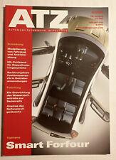 Zeitschrift ATZ 06/2004 Smart Forfour Fach-Literatur Entwicklung Konstruktion