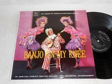 JOHN CALI Banjo On My Knee 60's MERCURY ORIG JAZZ RIVER BOAT LP RARE
