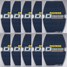 DIGIMON D-TECTOR CCG - RANDOM ROOKIE CHAMPION ULTIMATE MEGA LEVEL 10 CARD LOT