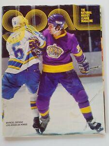 1979 DETROIT RED WINGS VS LOS ANGELES KINGS issue of Goal -