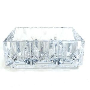 Baccarat Luxor Glass case accessory case Crystal glass clear