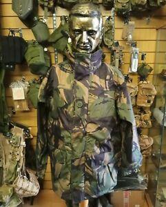"""Genuine British Army DPM  Waterproof Goretex MVP Hooded  Smock Size 40""""-44"""""""