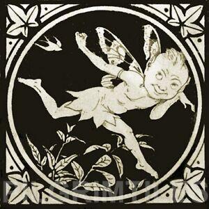 Minton Elfin Ceramic or Porcelain Tiles Fireplace Kitchen Bathroom ref 6 black