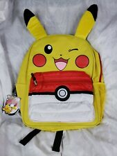 """Pokemon Pikachu 16"""" Backpack with Puff Pocket"""