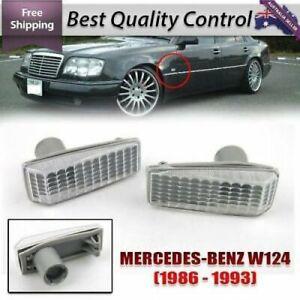 Mercedes Benz MB W124 W129 W140 W202 Side Blinker Light MARKER Turn Signals Lamp