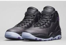 "Nike Air Jordan X 10 ""Paris"" size 9. 310805-018. City Pack. Black Purple"
