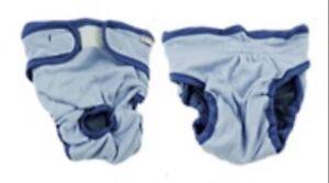 Dog Puppy Pet Diapers Reusable Nappy Bitch Season Heat Menstrual Sanitary S/M