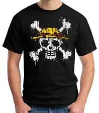 Camiseta Hombre One Piece Mancha Pintura anime manga t-shirt - camiseta chico