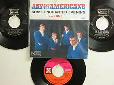LOT OF 4 ' JAY & THE AMERICANS ' HIT 45's+1P(Copy)[Some Enchanted Evening] 60's!
