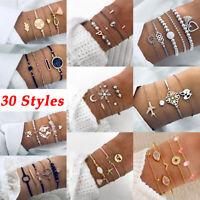 bracelet fixe bracelet de réglable perles de cristal. bowknot carte du monde