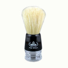Omega 10019 - 100% Boar Bristle Shaving Brush