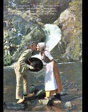 SAUT du GOULOUX (58) COUPLE costumé , RENCONTRE de GALVACHERS