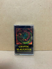 CRYPTIC SLAUGHTER - STREAM OF CONSCIOUSNESS  Cassette Tape - MINT !!