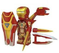 Iron Man Mk42 Avengers Endgame Marvel Minifigure Figure Custom Minifig 144