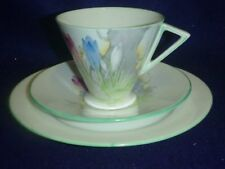 Shelley Tea Cup Trio Art Deco