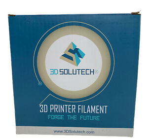 3D Solutech Silver 1.75mm Filament 3D Printer Forge The Future PLA Filament NEW