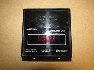 Rowe Ami Jukebox R84, R85, R86   DISPLAY  -  TESTED WORKING