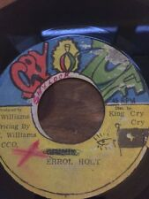 "Original Ja Cry Tuff 7"" Errol Holt"" Who Have Eyes To See"""