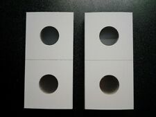 New 2x2 Penny Cardboard Coin Holders Flips Qty of 500 Penny Protector