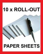 10 x PAPER ROLL FOR ROLL-OUT CHEAT PEN ! STUDENT CHEATING PEN