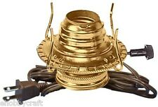 Electric Kerosene Lamp Burner DIY Kit Converts Oil Lamp to Electric- # M999E