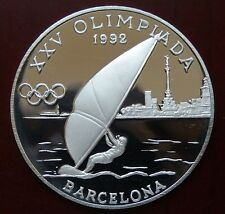 "Andorra: 20 Diners ""Olympiade Barcelona 1992"" 1989 - PP/Ag. !!"