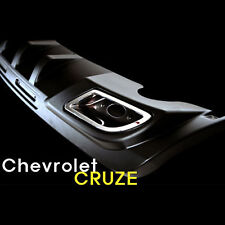 Rear Lip Spoiler Bumper Pad DIFFUSER PAINTED For 08 09 10 11 Chvey Cruze