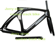 fixed gear bike frame full carbon fiber top tube 53.5cm,700C track bicycle frame