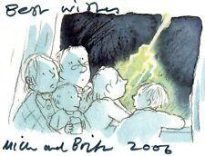 MICK MANNING, BRITA GRANSTROM AUTOGRAPHS, CHILDREN.S AUTHORS,