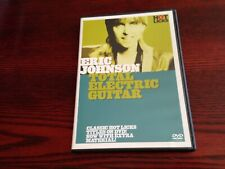 Eric Johnson Total Electric Guitar Lessons Learn to Play Hot Licks Video DVD