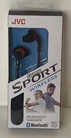 JVC Gumy Sport Wireless Bluetooth Earbuds  HA-EN10BTB Black/red New Sealed