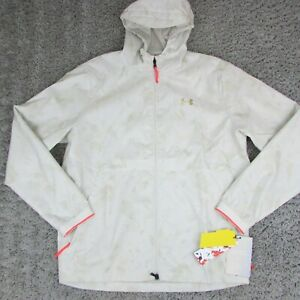 Under Armour Recovery Legacy Light Camo Windbreaker Jacket 1355215 Large $120