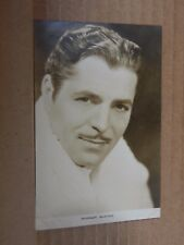 Film Star Postcard Warner Baxter. Real Photo unposted