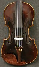 Old  Elegant Black Violin- Listen to Video-Germany Stainer model, Circa 1920