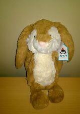 Jellycat Medium  Bashful Wriggle Bunny Rabbit Soft Toy Collectable BNWT