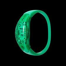 24 Grüner LED Klingen Aktiviert Armbänder Aufleuchtend Blink Sprache Kontrolle