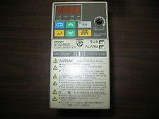 Omron 3G3MV-A2001 with 3G3MV-PDRT1-SINV Inverter Drive 1.1 Amp Missing Knob