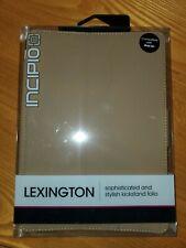 Incipio Lexington Kickstand Folio iPad Air Case Tan Pink Cover Micro Suede Cute