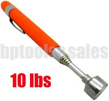 """10lbs Telescoping Magnetic Pick Up Tool Pen Size 24"""" Extension w/ Pocket Clip"""