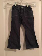 Wrangler Toddler Girls Blue denim Jeans Pants Sz 4T