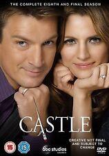 CASTLE Stagione 8 Serie Completa BOX 6 DVD in Inglese NEW .cp