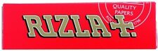 RIZLA RED Single Medium Weight Smoking Cigarette Rolling Tobacco Papers Packs