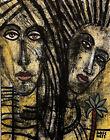 Al Lofsness - 'The Cairo Sisters'  Oil - Portrait - 15 x 19' - Canvas - Modern