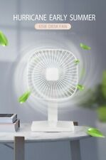 Portable Desk Fan, 3 speed, quiet, USB/AC Charger
