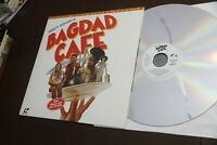 Bagdad Cafe Deluxe Widescreen Version Laserdisc LD WS NM 1987 Jack Palance