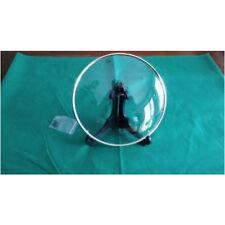 "CONVEX Clock Glass&Bezel NOS Friction fit 8 5/8"" FOUR Pin Mount Mint Condition"