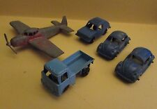 Vintage TOOTSIE TOY Small Plane Truck Volkswagon Beetle Lot of 5 VG- to VG+