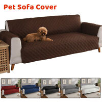 Long Waterproof Sofa Couch Cover Pet Dog Kids Slipcover Furniture Protector Mat