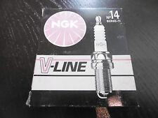 4x ZÜNDKERZE NGK V-LINE No. 14 BKR6E-11 - NEU OVP