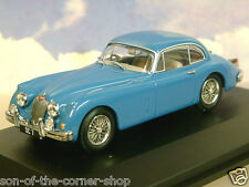 OXFORD 1/43 DONALD CAMPBELL'S JAGUAR XK150 XK 150 DC7 BLUEBIRD BLUE JAGXK150006